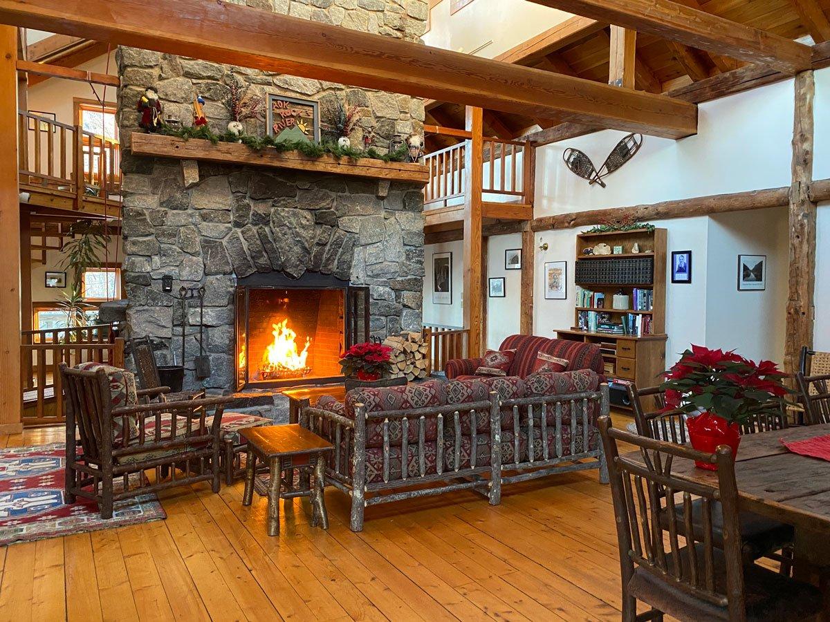 Climber Lodge Fireplace
