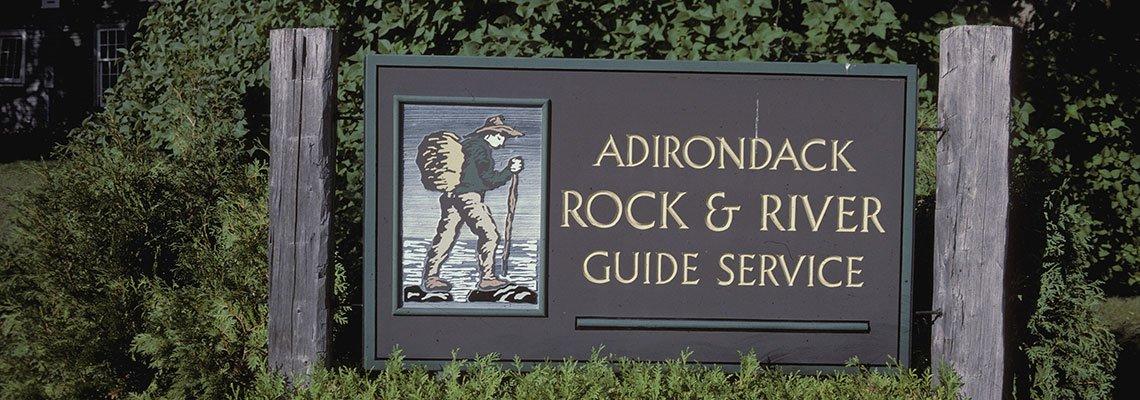 Rock & River Sign